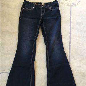 Seven 7 Flare Leg Jeans